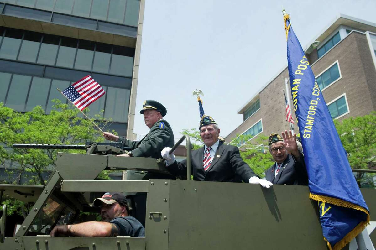 Stamford's Memorial Day Parade in Stamford, Conn., May 27, 2012.