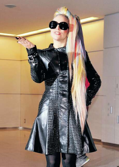 American pop star Lady Gaga arrives at Narita international airport on May 8, 2012 as part of an Asian tour.    AFP PHOTO / KAZUHIRO NOGIKAZUHIRO NOGI/AFP/GettyImages Photo: KAZUHIRO NOGI / AFP