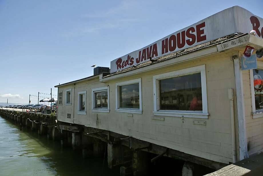 Red's Java House sits on the water along the Embarcadero, Thursday Jane 10, 2010, in San Francisco, Calif. People can enjoy their meal outside in the sun or inside. Photo: Lacy Atkins, The Chronicle