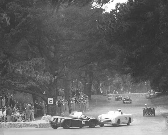Car Race Spectacle In Golden Gate Park