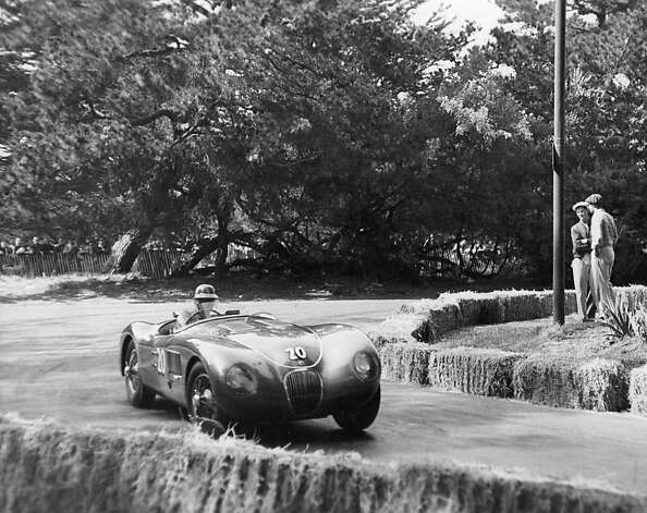 Pollack rounds turn 4 in C-type in 1953. Photo: Nichols Collection/SFR Archive