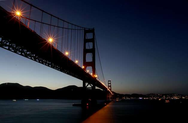 The 75th anniversary of the Golden Gate Bridge, on Sunday May 27, 2012, in San Francisco, Ca. Photo: Michael Macor, The Chronicle