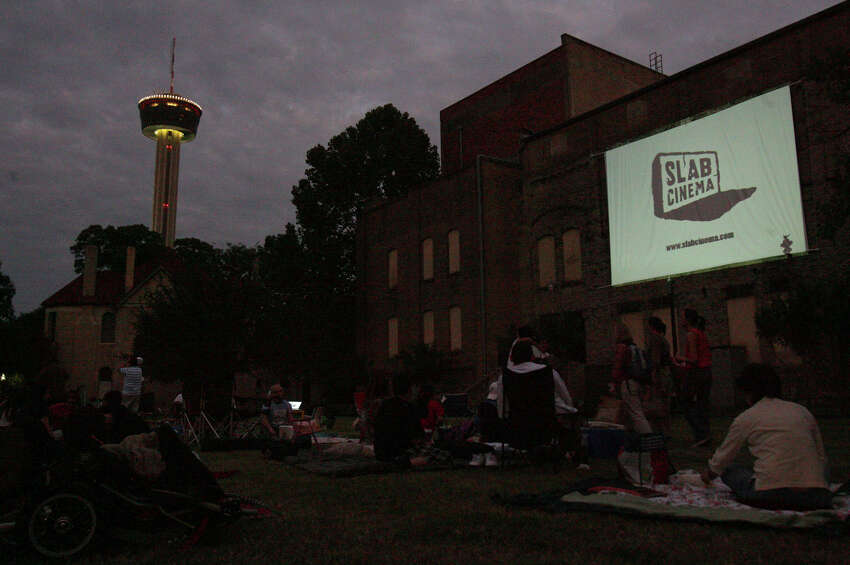 Enjoy a contemporary flick in the evening fresh air.Slab Cinema screens free movies outdoors at various locations.