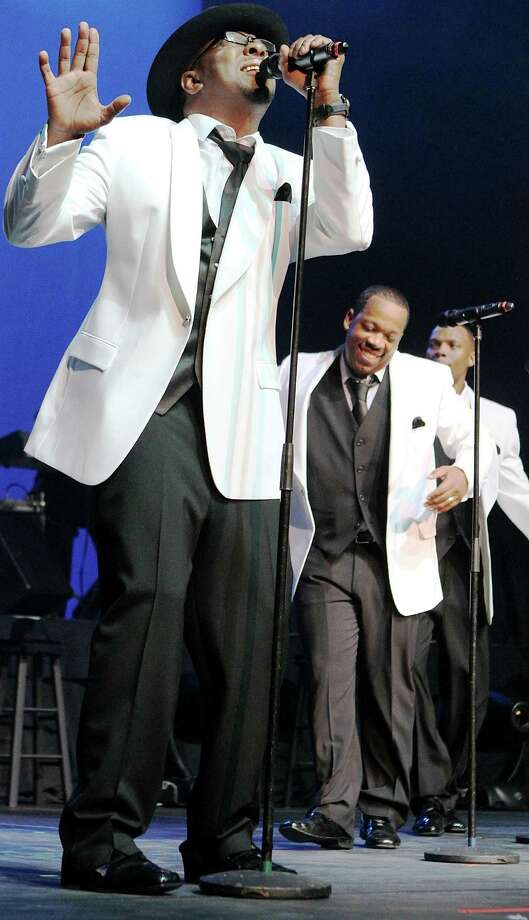 Uncasville, CT - FEBRUARY 18: Bobby Brown performs with New Edition at Mohegan Sun Arena on February 18, 2012 in Uncasville, Connecticut. Photo: Marc Andrew Deley, Getty Images / 2012 Getty Images