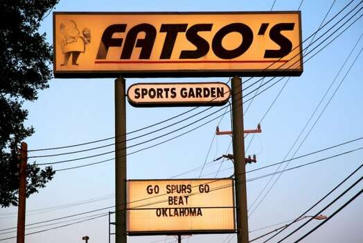 Fatso's Sports Garden, 1704 Bandera Road: Several varieties of burgers, along with plenty of barbecue, to fuel an afternoon watching all the important games. www.fatsossportsgarden.com