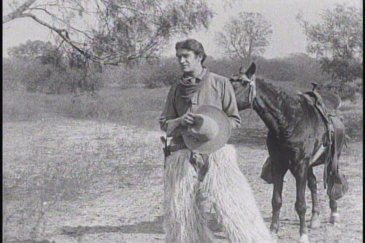 """The early Western """"Billy and His Pal"""" was shot in 1911 in San Antonio and recently discovered in New Zealand."""