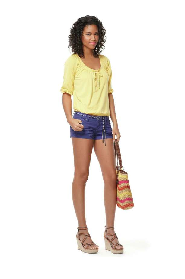 Hot pants look great - on models and store mannequins. Photo: Target