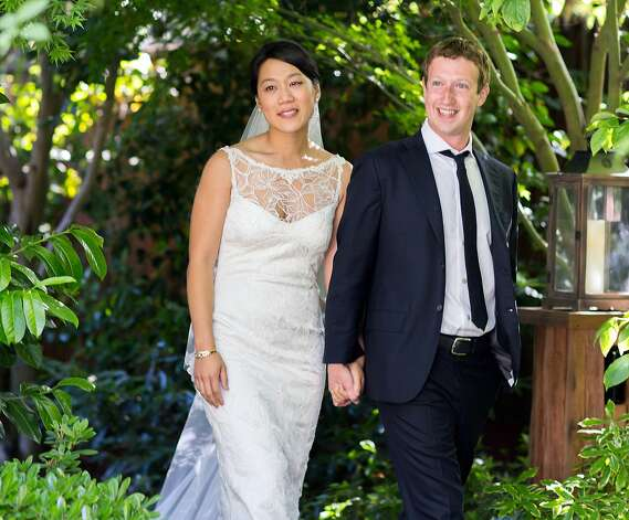 May 19: Mark Zuckerberg and Priscilla Chan pull off an oxymoron (a Facebook secret) with a surprise wedding in Palo Alto a day after his company's IPO. In true Silicon Valley style, there are no ostentatious displays of wealth, just sushi and Mexican eats from local hangouts Fuki Sushi and Palo Alto Sol. Photo: Allyson Magda, Associated Press