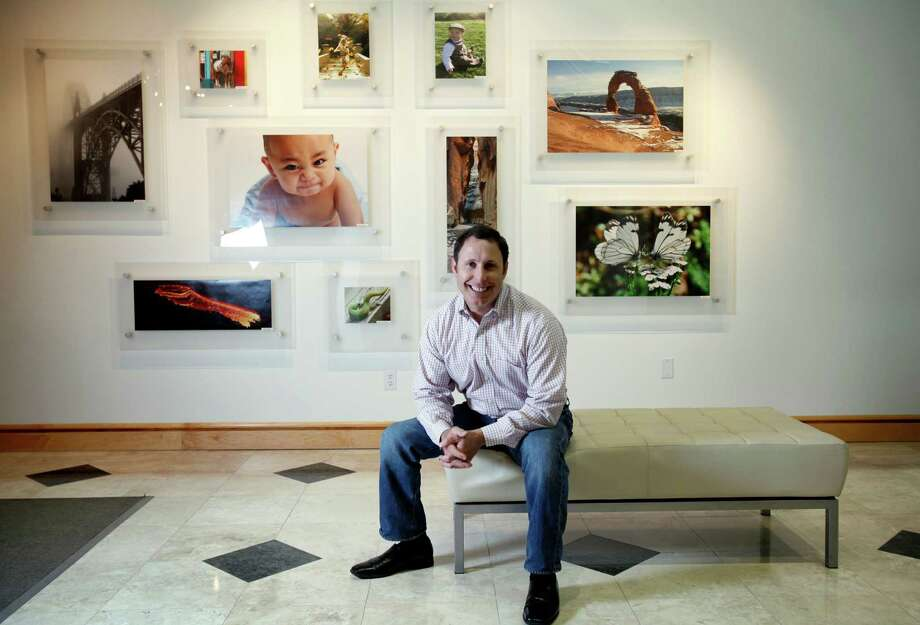 CEO Jeff Housenbold sees Shutterfly reaching into the greeting card and stationery market. Photo: Sarah Rice / ONLINE_YES