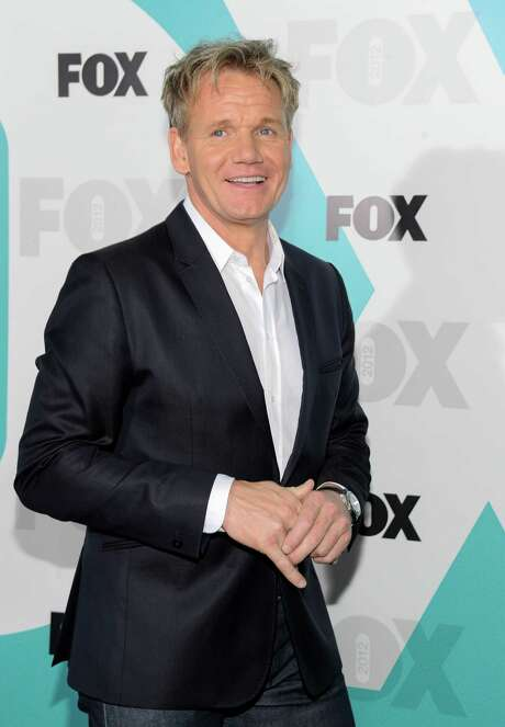 """Chef Gordon Ramsay from """"Kitchen Nightmares"""" and """"MasterChef"""" attends the FOX network upfront presentation party at Wollman Rink, Monday, May 14, 2012 in New York. Photo: AP"""