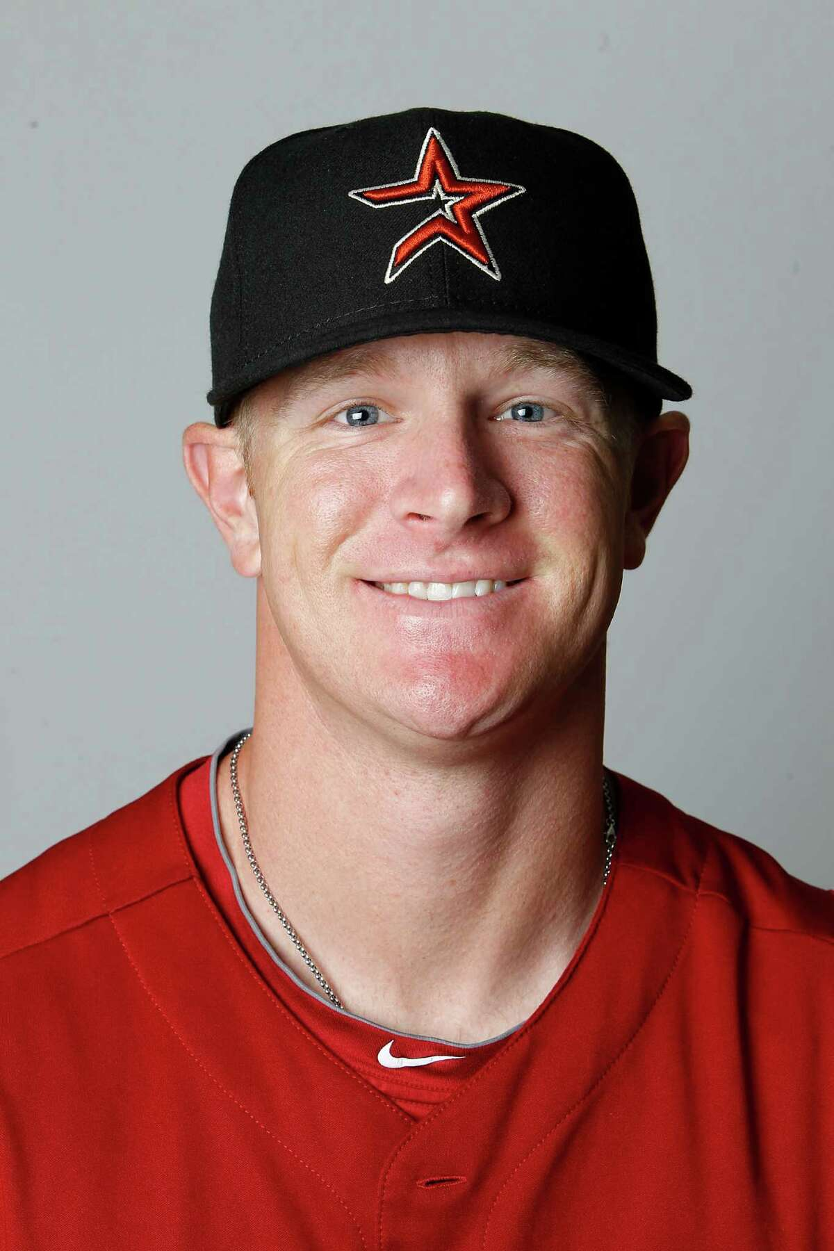 Houston Astros David Carpenter photographed during photo day at the Astros spring training complex at Osceola County Stadium on Tuesday, Feb. 28, 2012, in Kissimmee. ( Karen Warren / Houston Chronicle )