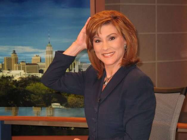 Vicki Buffolino, longtime morning anchorwoman at KENS-TV, says she is fighting glandular illnesses. Photo: Joyce Averna Buffolino