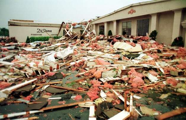 The 1998 Mechanicville Tornado. (Albany Times Union)