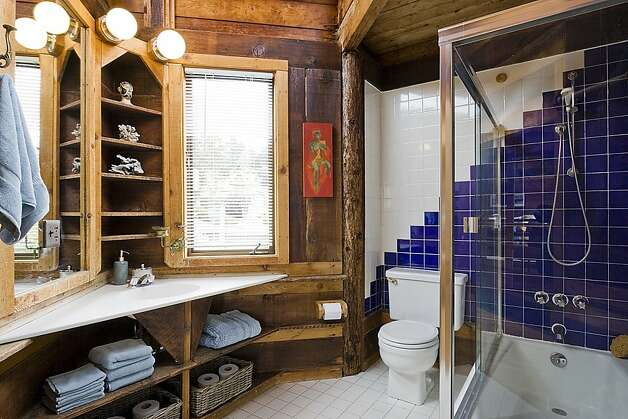 The home has a full bathroom on each level. Photo: Rob Jordan
