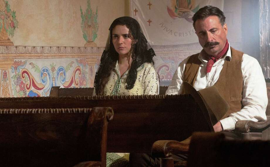 "Catalna Sandina Moreno and Andy Garcia star in ""For Greater Glory"" Photo: Arc Entertainment"