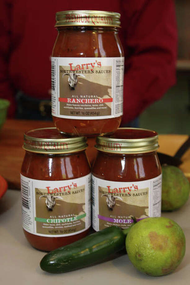 Larry Sombke makes gluten-free, all-natural Southwestern Sauces. Read the story here Photo: Krishna Hill/Life@Home