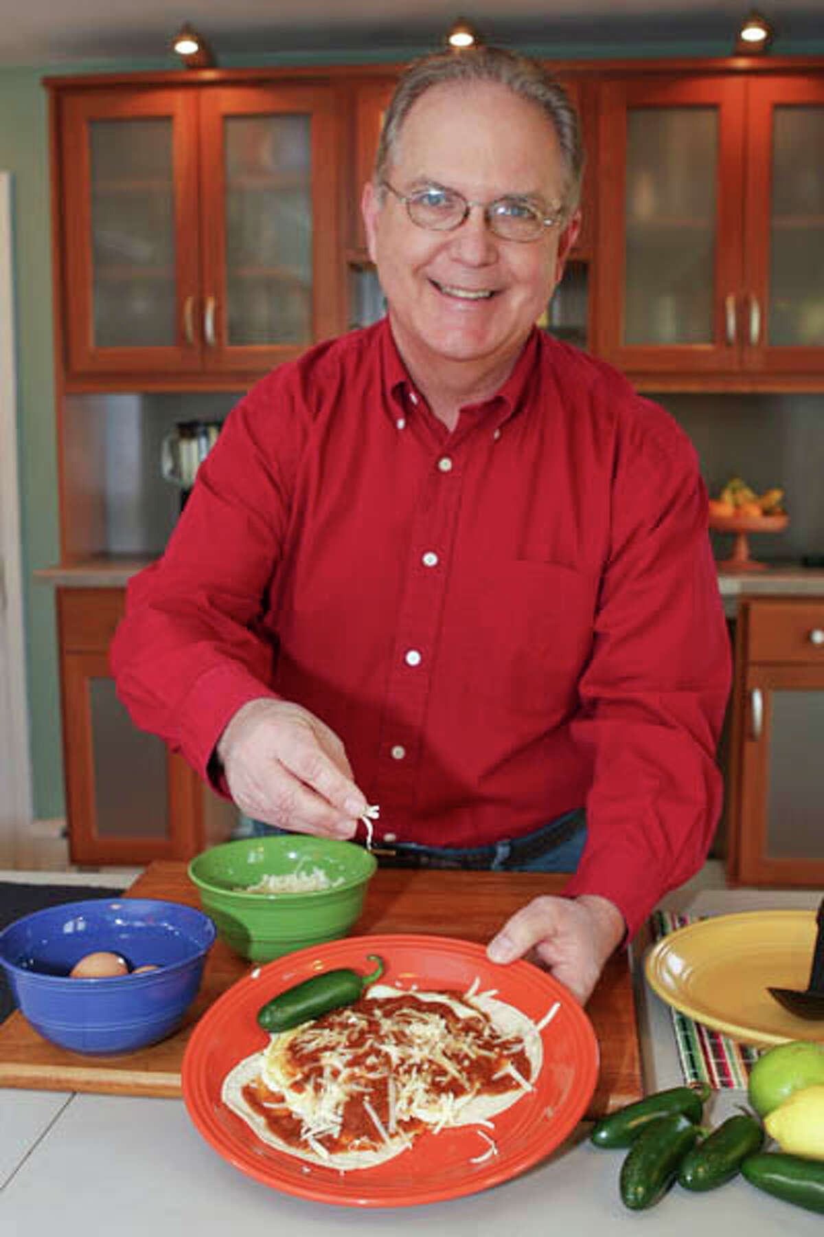 Larry Sombke makes gluten-free, all-natural Southwestern Sauces. Read the story here