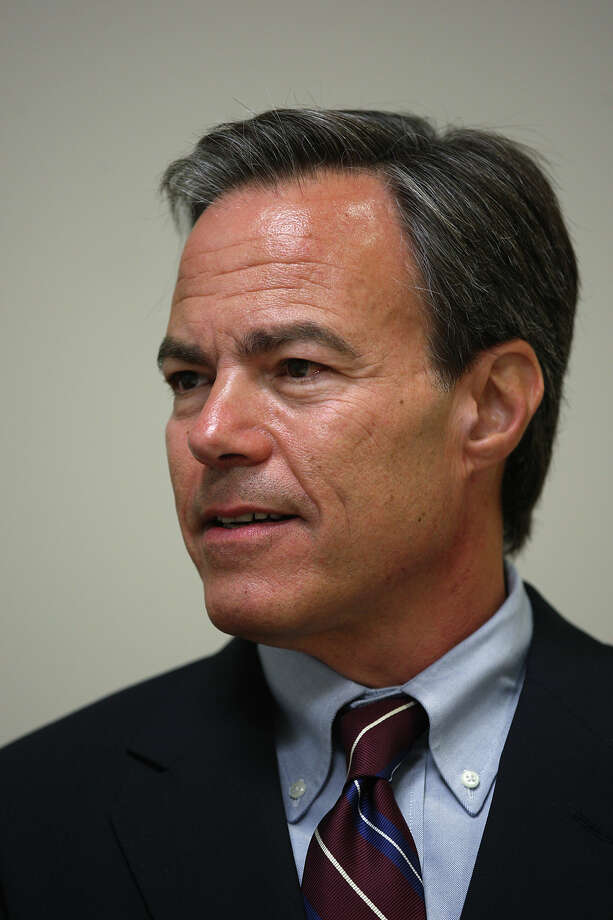 Texas House Speaker Joe Straus worked polls with his parents before he could even vote. Photo: Jerry Lara, San Antonio Express-News / © 2012 San Antonio Express-News