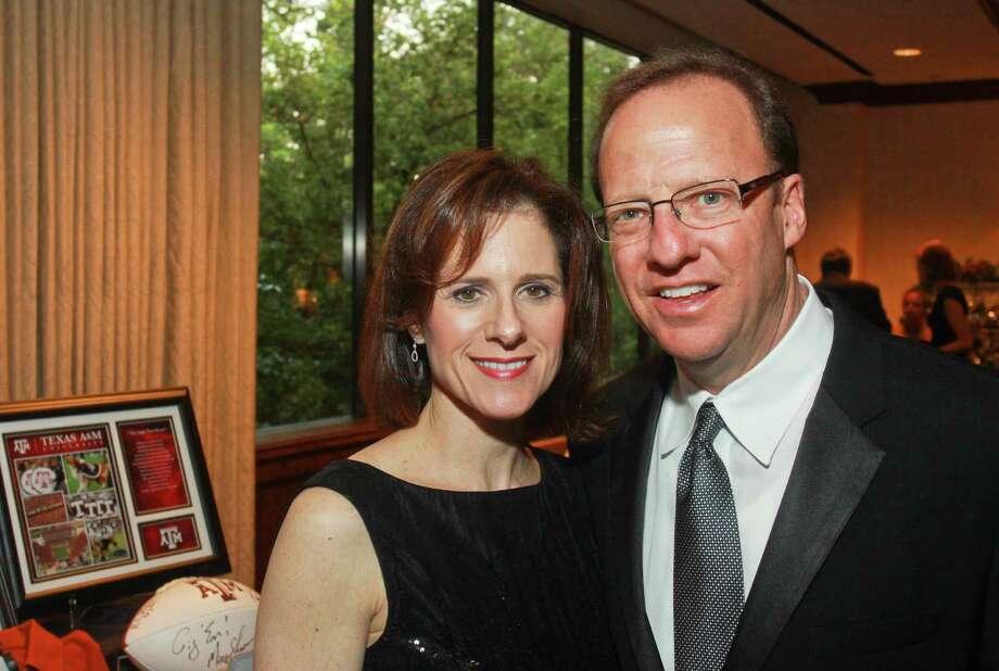 Renee and Alan Helfman. Photo: Gary Fountain / Copyright 2012 Gary Fountain.