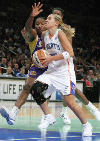 The acquisition of Becky Hammon from the New York Liberty was a pivotal one. Photo: TINA FINEBERG, Associated Press / AP