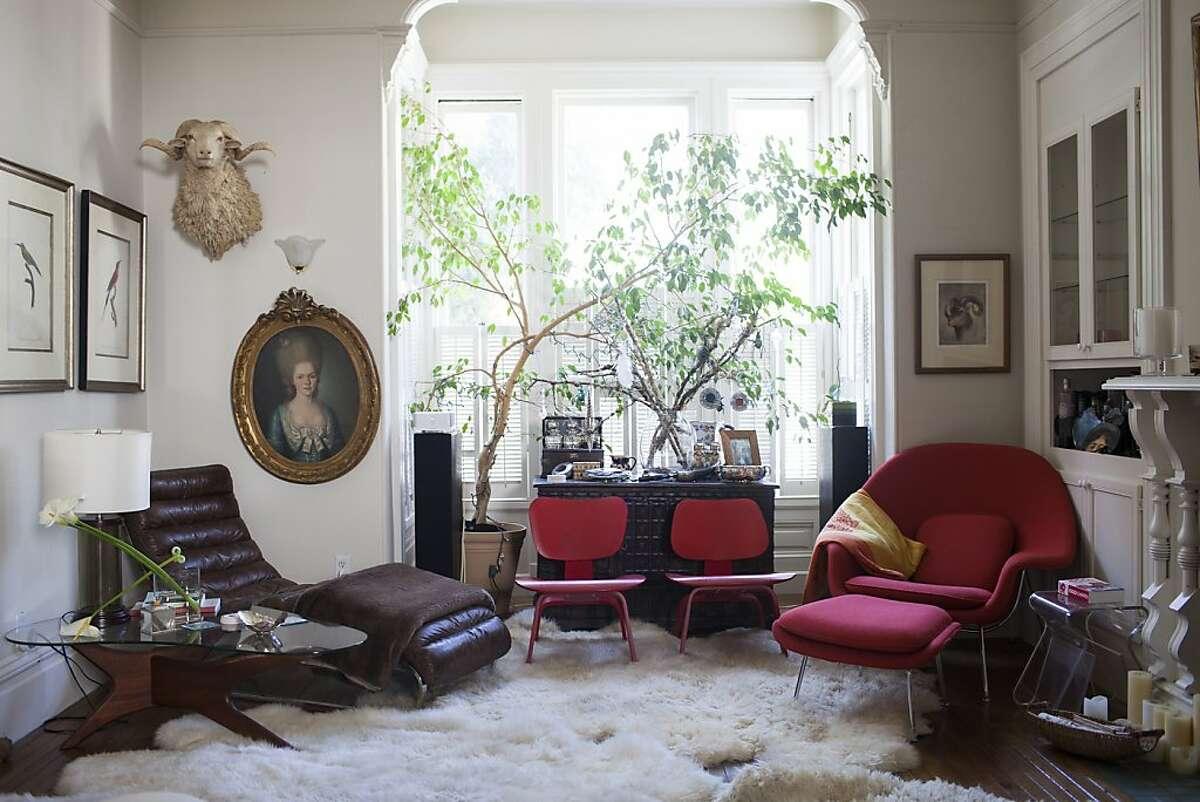 Living room area of LivingMacTavish founder Susan MacTavish Best's home in San Francisco, Calif. on Thursday, May 24, 2012.