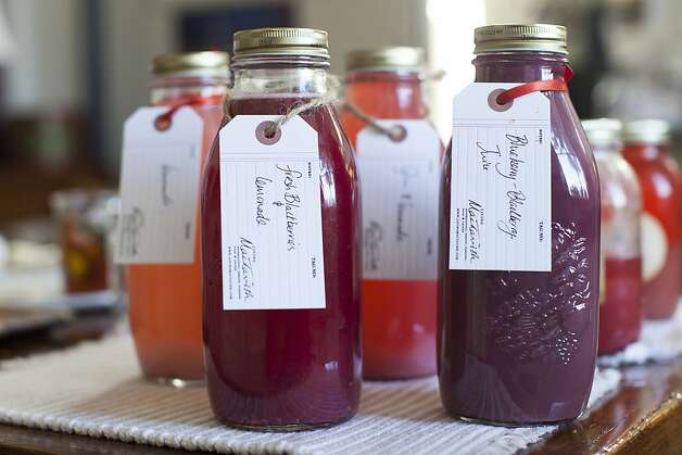 Fresh blackberries & lemonade and blueberry-black juice created by LivingMacTavish founder Susan MacTavish Best at her home in San Francisco, Calif. on Thursday, May 24, 2012. Photo: Stephen Lam, Special To The Chronicle