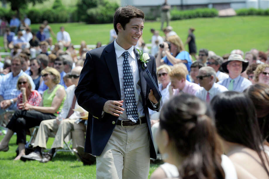 Canterbury School in New Milford holds its graduation ceremony Tuesday, May 29, 2012. Photo: Carol Kaliff