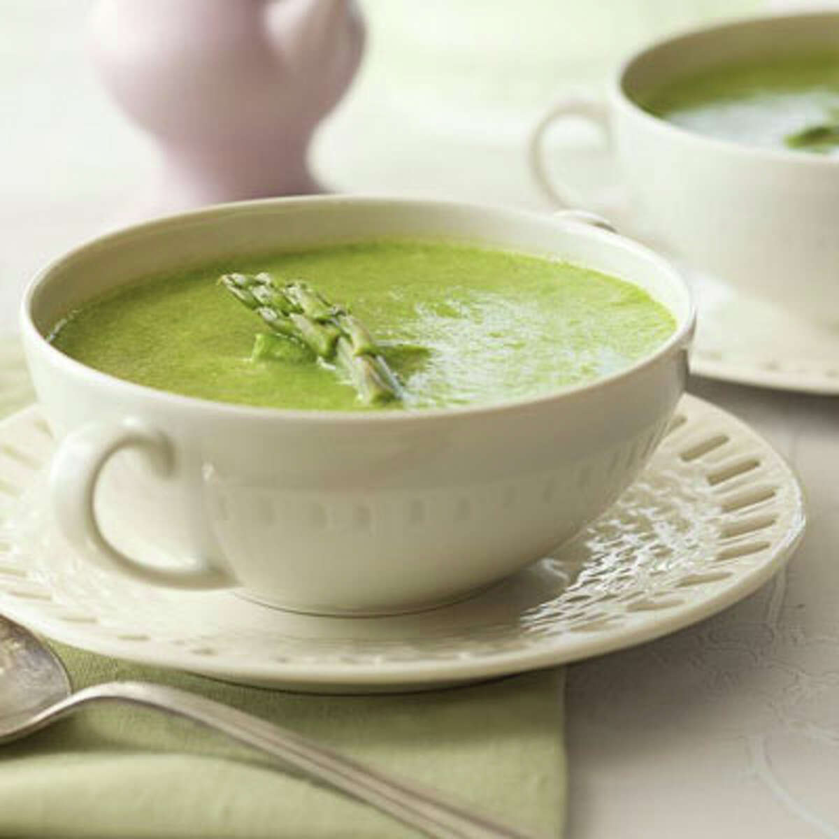 Chilled Asparagus Bisque