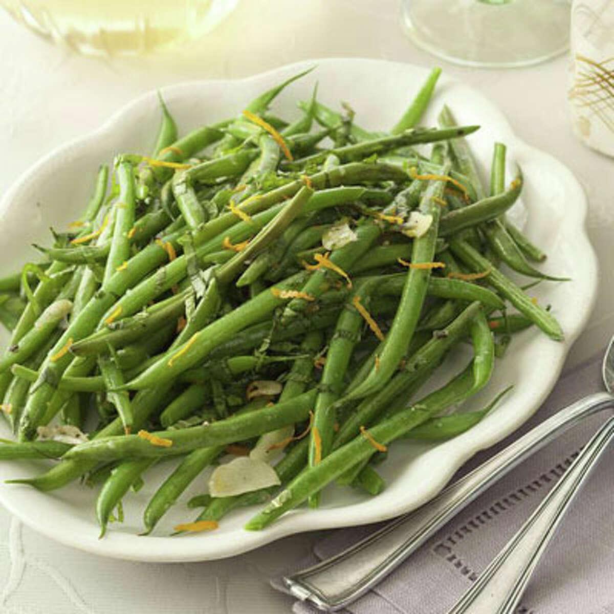 Stir-and-Serve Green Beans