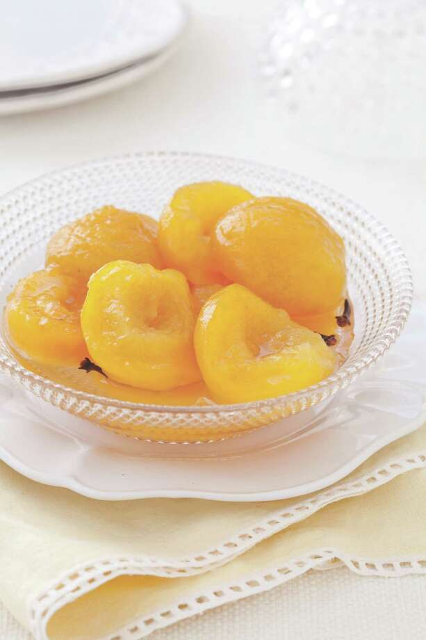 """Gram's Pickled Peaches, a recipe from """"From Our Grandmother's Kitchens"""" by the editors of Cook's Country Magazine Photo: America's Test Kitchen / © 2009 Keller + Keller."""