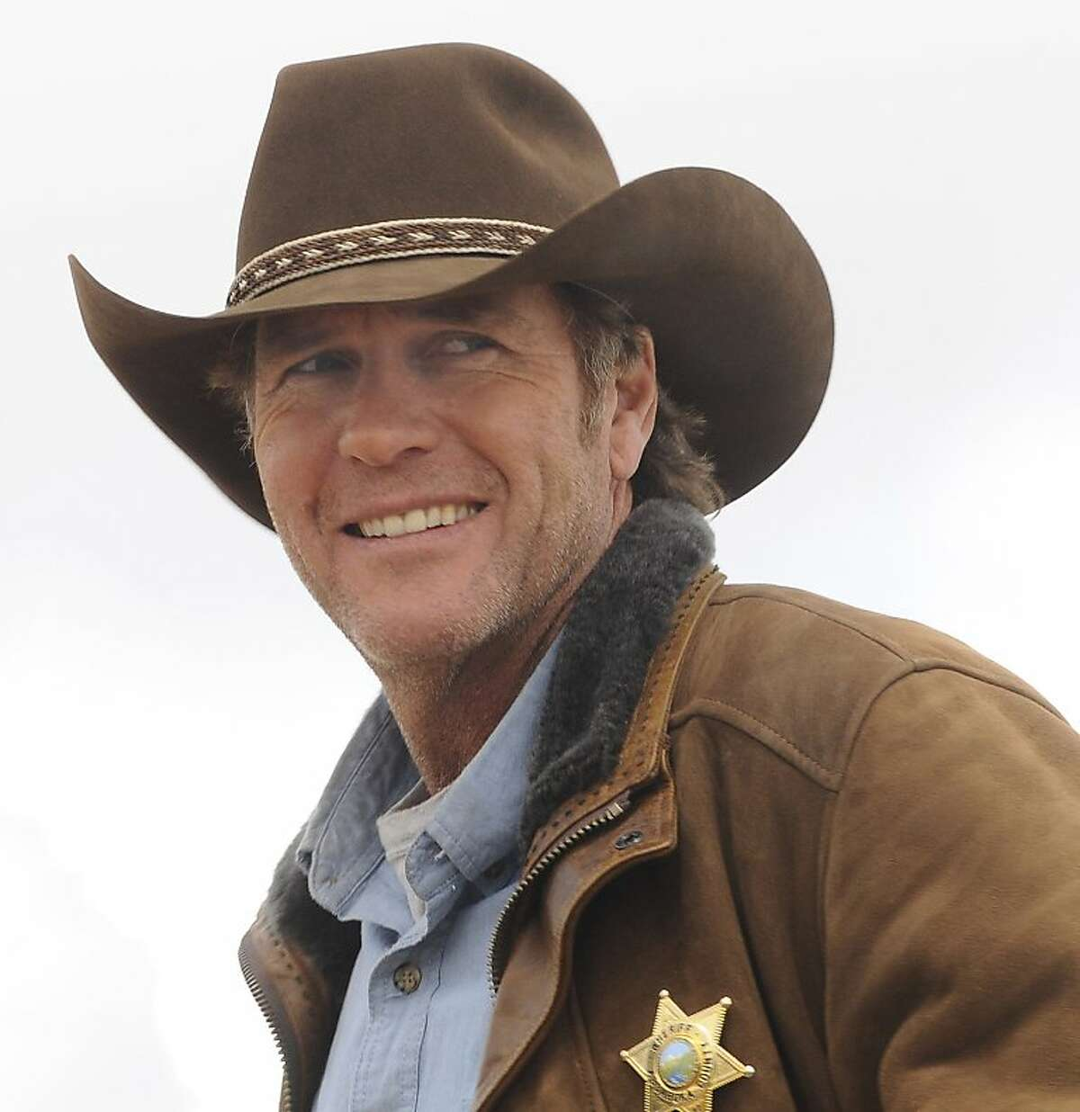 Australian Robert Taylor plays the troubled sheriff in A&E's new series,
