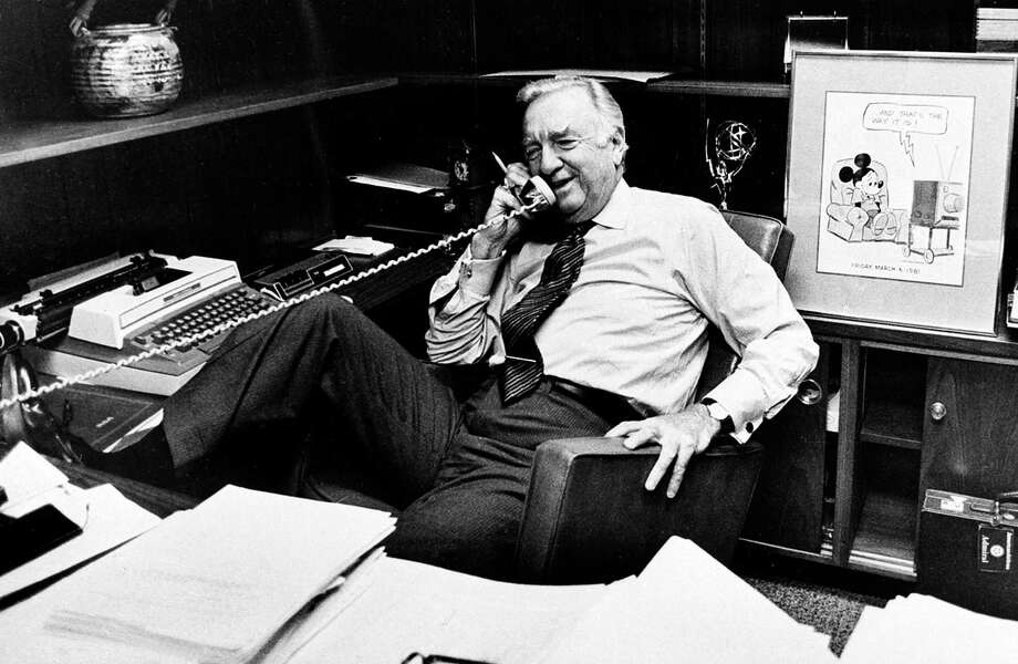 "photo of Walter Cronkite to go with review of ""Cronkite"" by Douglas Vrinkley Photo: Walter Cronkite"