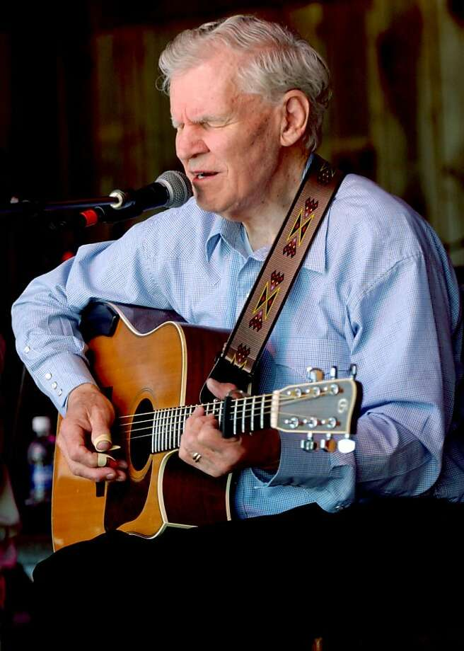 Doc Watson's lightning-fast style of flatpicking influenced guitarists around the world. Photo: Lauren Carroll, Associated Press