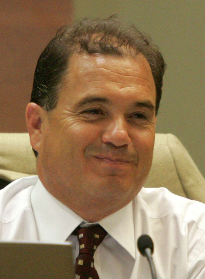 "County Commissioner Sergio ""Chico"" Rodriguez, seen Tuesday afternoon July 12, 2005 at the county courthouse during commissioners' court. Photo: WILLIAM LUTHER, SAN ANTONIO EXPRESS-NEWS / SAN ANTONIO EXPRESS-NEWS"