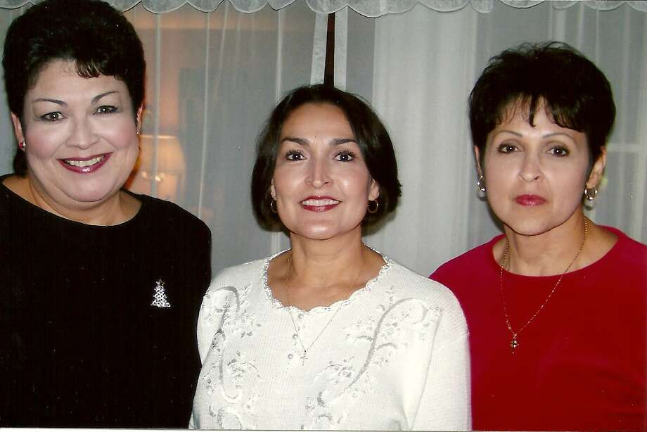 The Partida girls in 2006 - left to right: Maureen Berryman, Evelyn Casillas, Anna Martinez Photo: COURTESY