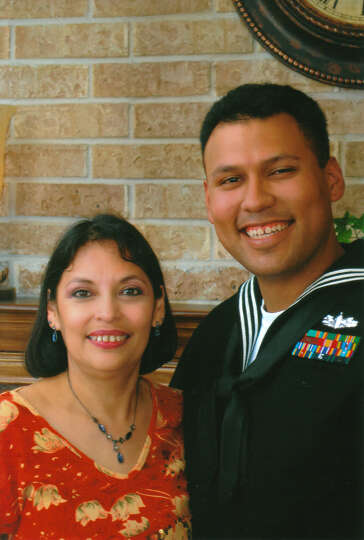 Jason Garcia, 29 and his mother Rosie, 53, in 2009.