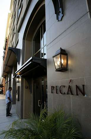"""Pican"" a taste of the south, restaurant, on Broadway in downtown Oakland, Calif., on Tuesday March 24, 2009. Photo: Michael Macor, The Chronicle"