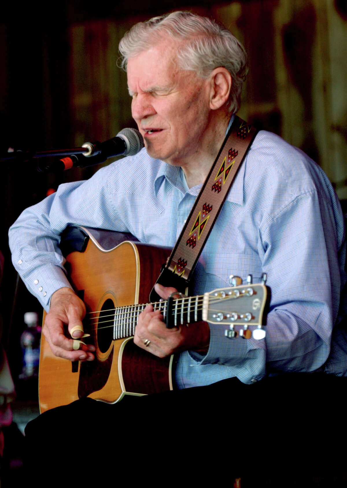 Doc Watson described his virtuoso playing as just