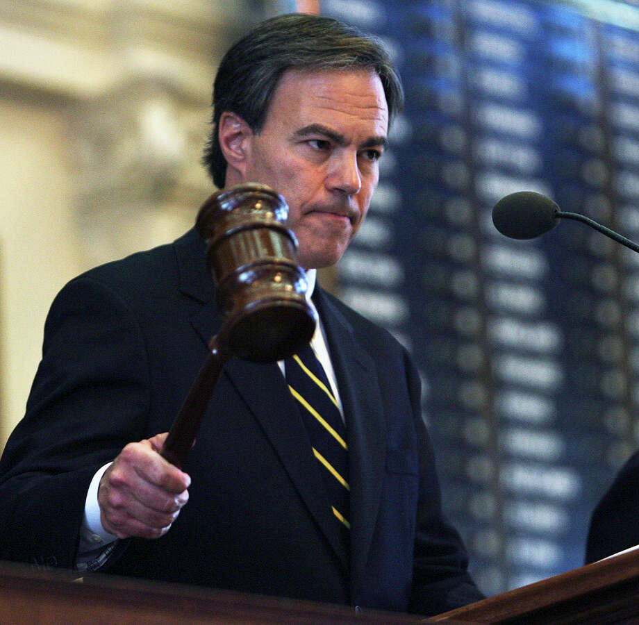 Joe Straus handily defeated challenger Matt Beebe in the Republican primary. Photo: TOM REEL, SAN ANTONIO EXPRESS-NEWS / treel@express-news.net