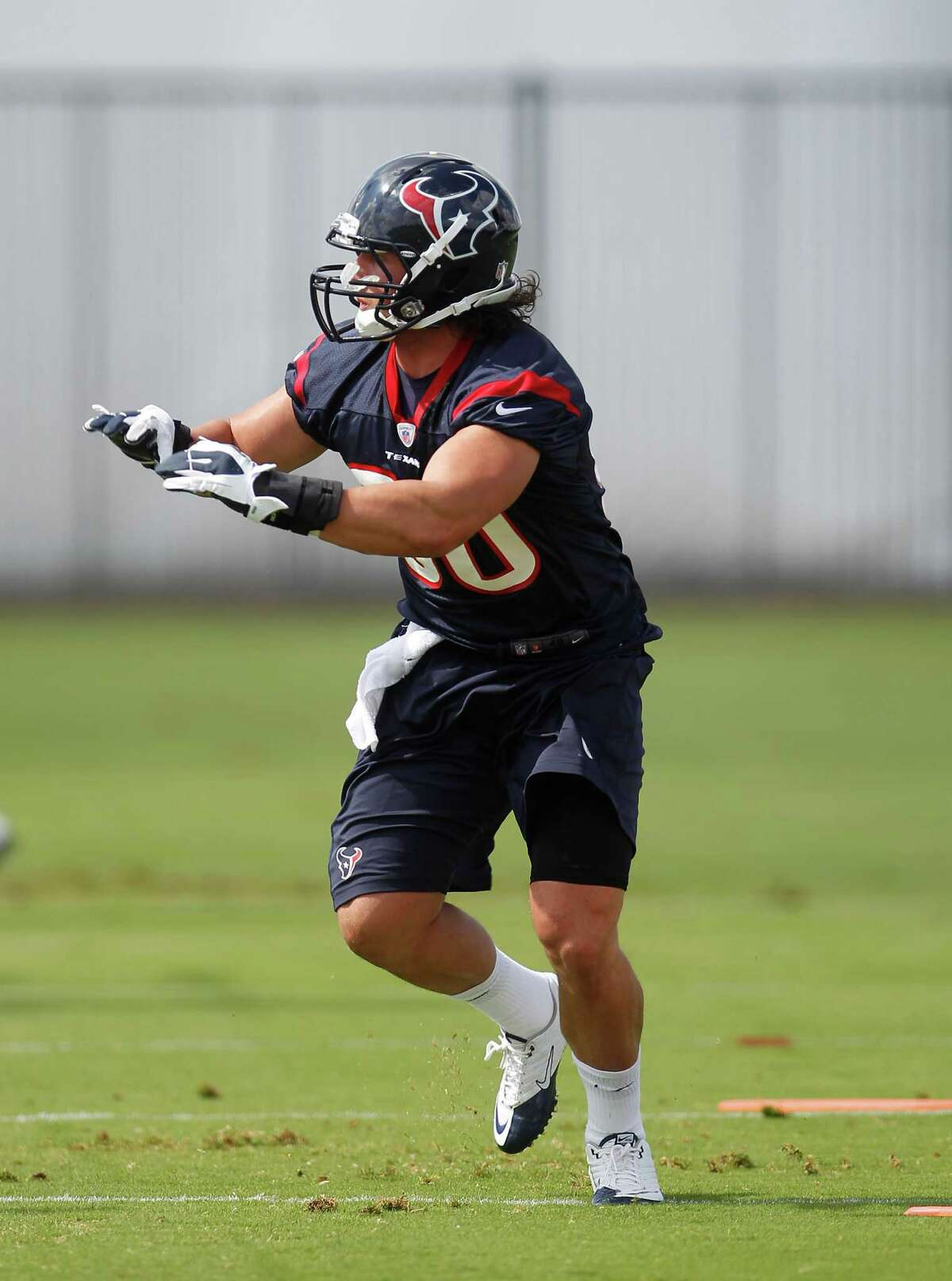 After contemplating life in prison, Texans rookie Shawn Loiseau doesn't find football all that tough.
