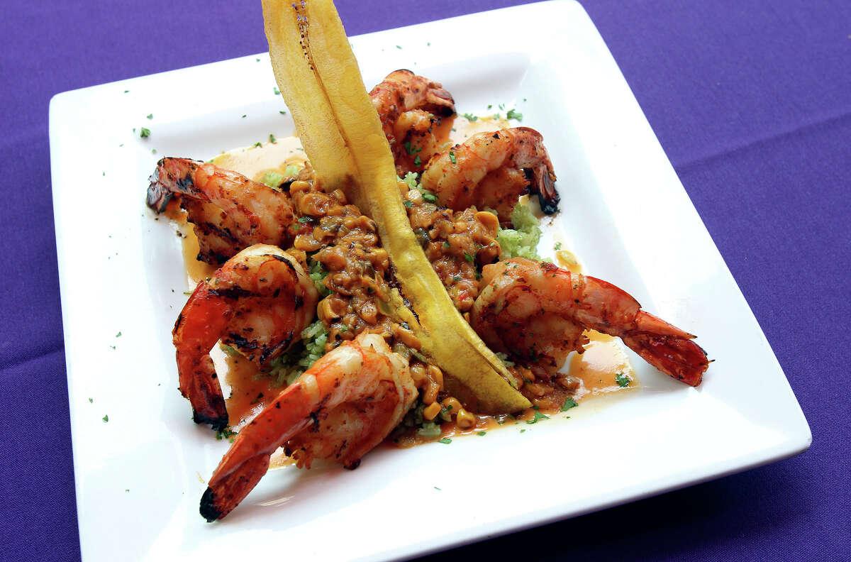 Camarones at Acenar restaurant review on May 25, 2012.