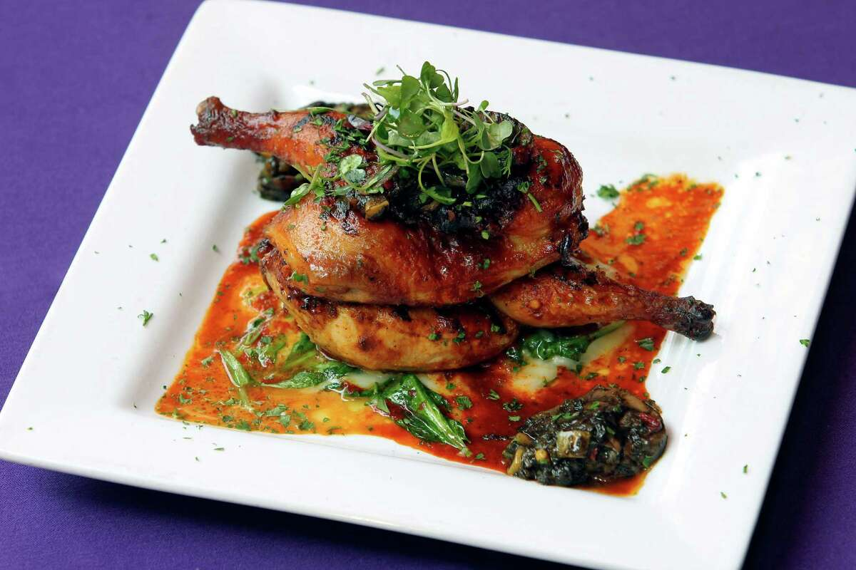 Ácenar: 146 E. Houston St., 210-222-2362, acenar.com, will offer a three-course menu on Feb. 12-14 starting at 5 p.m. $39-$68 based on entree with 20 percent gratuity added Feb. 14. Menu includes choice of coctel de camarones, crab salad, brisket taquitos, Caesar salad or pozole rojo; choice of mushroom and spinach enchiladas, seafood pasta, Chilean sea bass, lemon-pepper chicken, pork chop or steak and lobster; choice of tres leches cake, bread pudding or crème brûlée. Valet parking at Hotel Valencia, $7, as space permits.