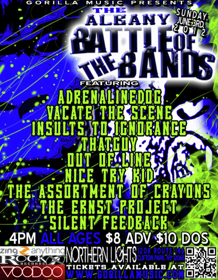 Gorilla Battle Of The Bands comes to Upstate Concert Hall.