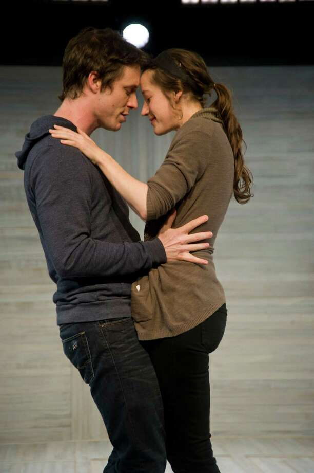 Brooke Bloom and Ryan King star in the Barrington Stage Company?s production of ??Lungs.?? (Kevin Sprague)