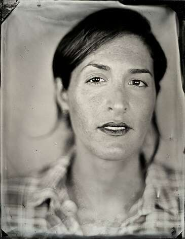 A Photobooth tintype. Photo: Michael Shindler, Photobooth