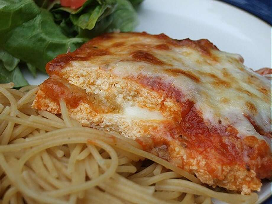 Tofu Parmigiana/http://chickinthekitchen.com