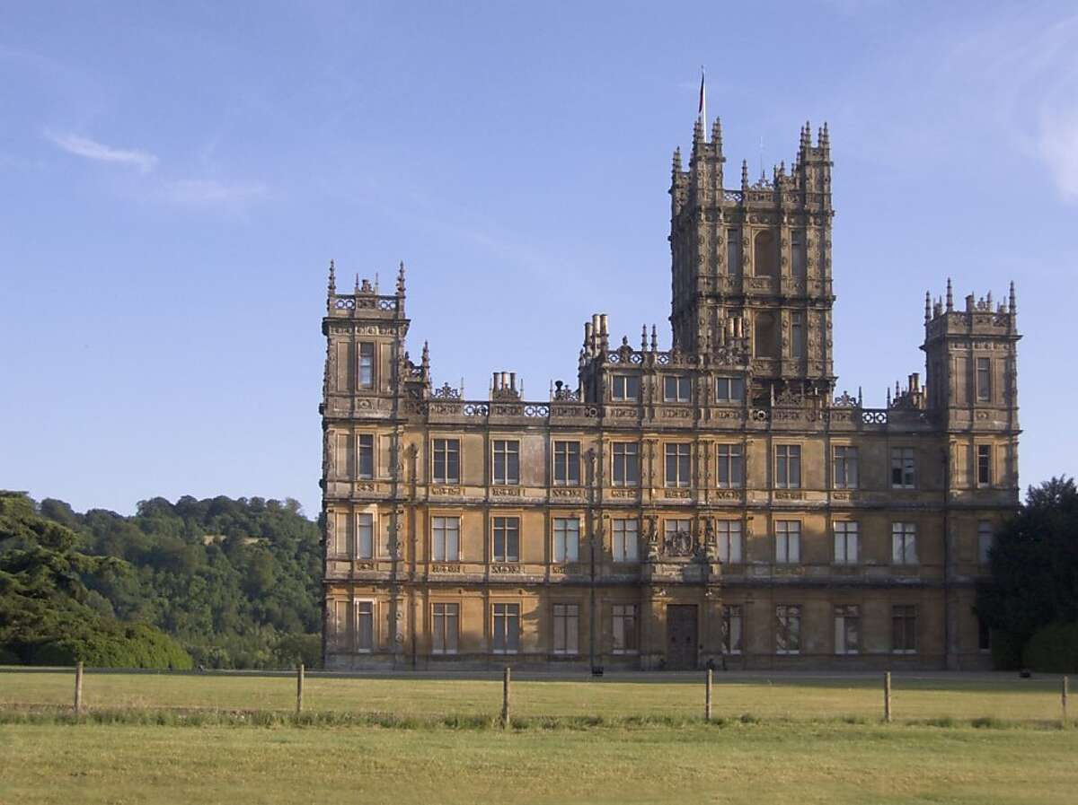 """Highclere Castle, the set of """"Downton Abbey,"""" is one highlight of a new tour of England focused on the TV series' locations."""