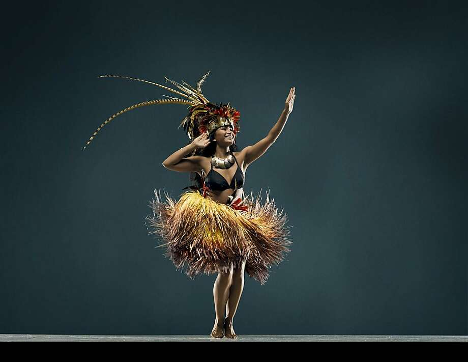 Sarah Padrones of Tahitian dance company Te Mana O Te Ra will be featured as part of the 2012 San Francisco Ethnic Dance Festival, June 2-July 1. Photo: RJ Muna. Photo: RJ Muna.