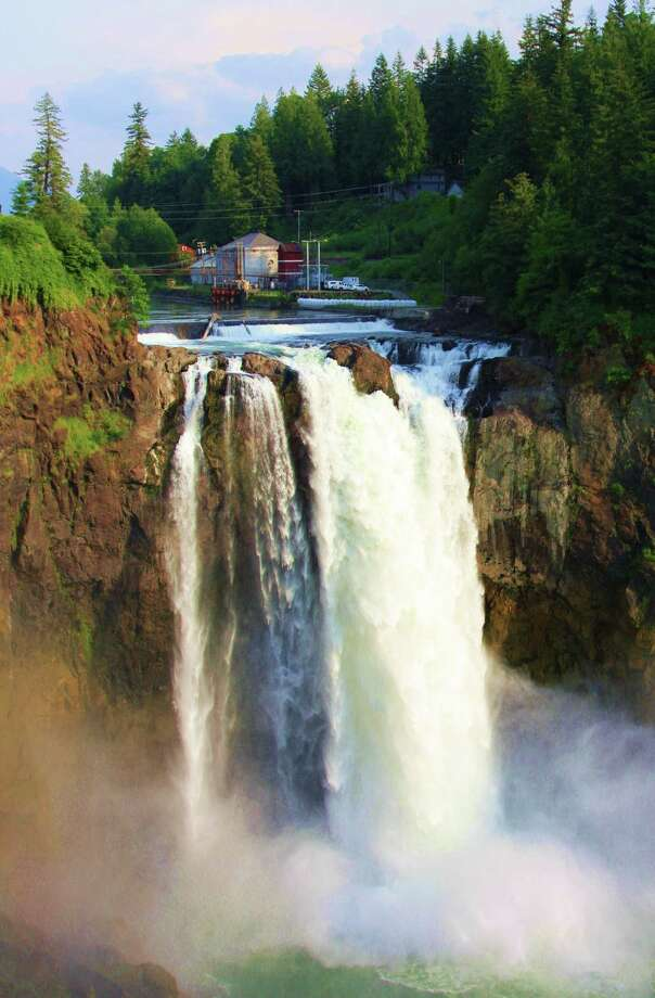 Cutline: Snoqualmie Falls, located near Seattle, attracts more than 1.5 million visitors annually. Credit: Larry Hawkins Photo: Larry Hawkins / handout