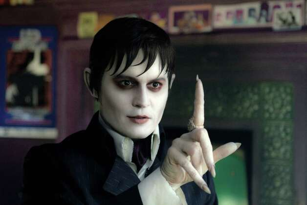 "In this film image released by Warner Bros., Johnny Depp portrays Barnabas Collins in a scene from ""Dark Shadows."" (AP Photo/Warner Bros., Peter Mountain) Photo: AP, HONS / © 2012 Warner Bros. Entertainment Inc. - U.S., Canada, Bahamas & Bermuda. © 2012 Village Roadshow Films (BVI) Limited – All othe"